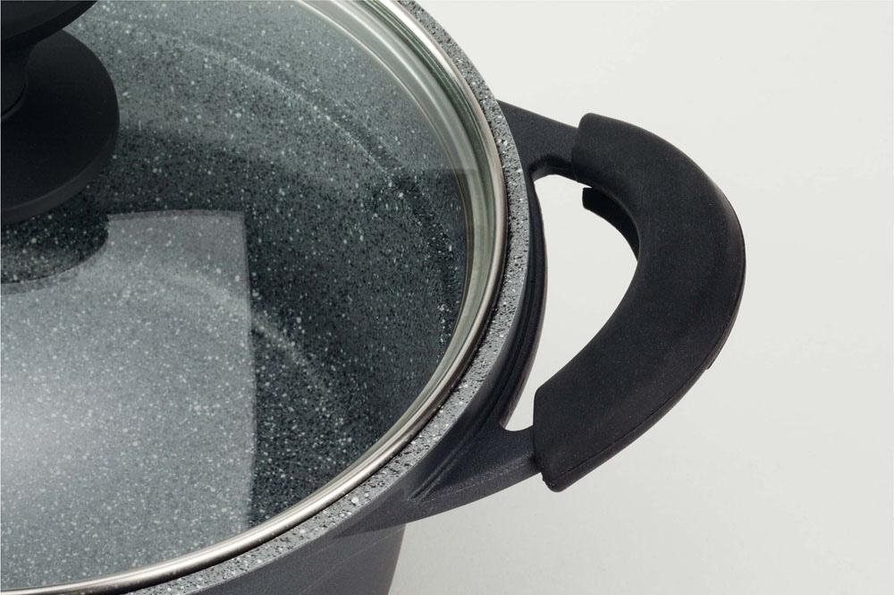 Batteria Pentole Tognana EVOLUTA a risparmio energetico in granitium pietra 10 pezzi con omaggio