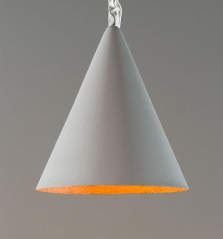 Lampada a Sospensione Jazz Cemento Collezione Matt di In-es.artdesign, Varie Finiture - Offerta di Mondo Luce 24