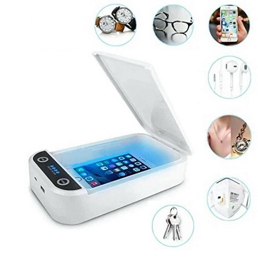 Sterilizzatore lampada UV pulente RAGGI UV portatile BOX disinfezione oggetti mascherine cellulare