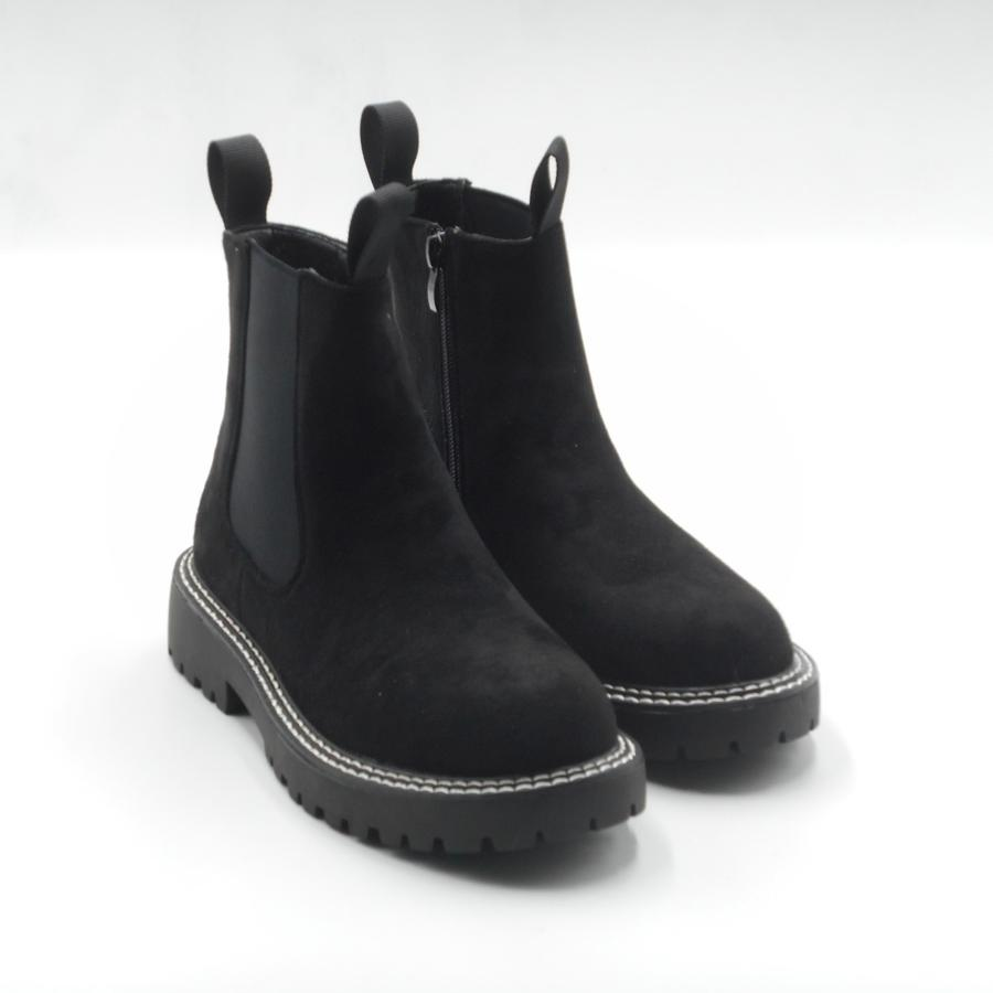 Ideal Shoes stivaletti boots donna neri