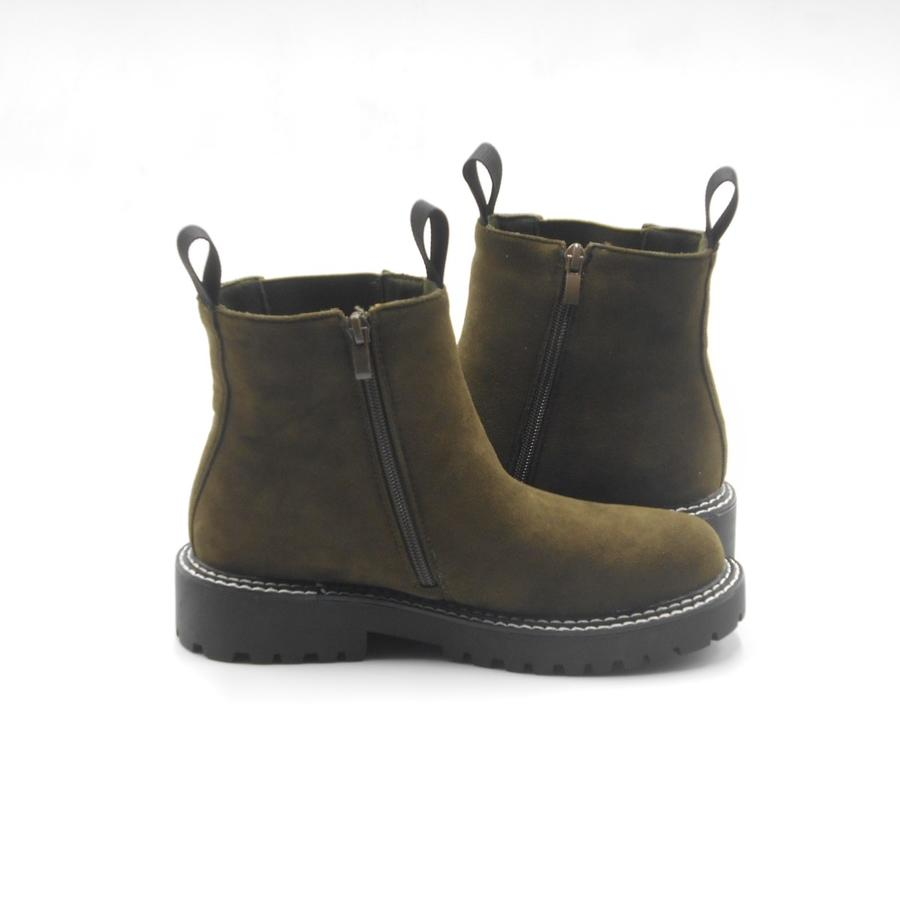 Ideal Shoes stivaletti boots donna green
