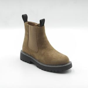 Ideal Shoes stivaletti boots donna khaki