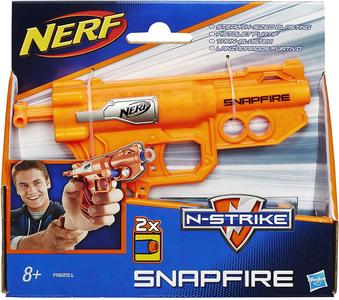 Nerf N-Strike Elite Snapfire Blaster - Hasbro A9251 - 8 + anni