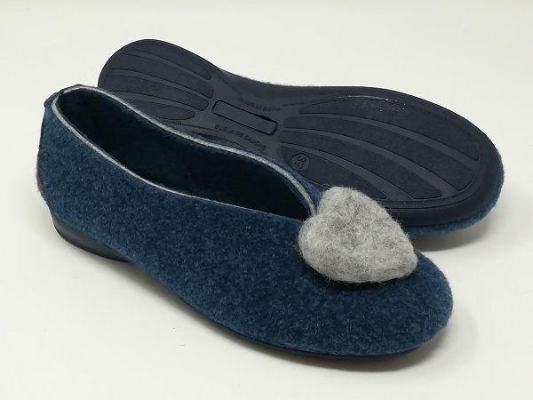 Pantofola Lana/Cuore - Susimoda