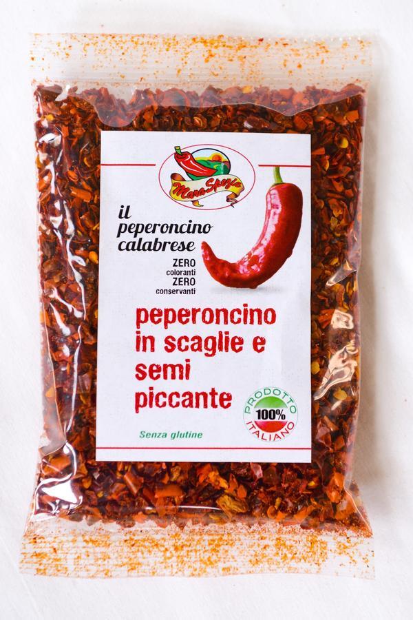 Peperoncino in scaglie con semi Piccante Calabrese, Maraspezie, 1kg