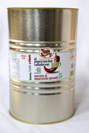 Estratto di Peperoncino Piccante Calabrese, Maraspezie, 4,2 kg