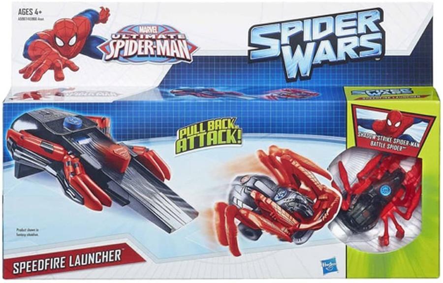 Spider Wars - Speedfire Launcher -- Hasbro A5967 - 4+ anni