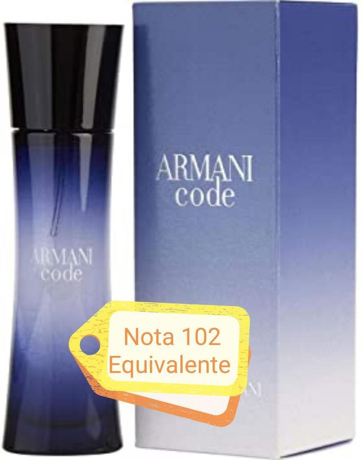 Nota 102 ricorda Armani Code