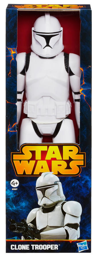 Star Wars - Clone Trooper Figure 28 cm -- Hasbro A0867 - 4+ anni