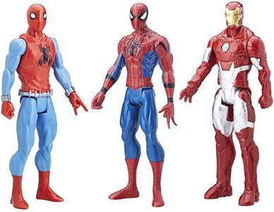 Spider-Man - 3 x Action Figure 28 cm -- Hasbro C2413 - 4+ anni