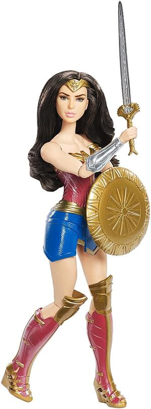 Wonder Woman Shield Block Figure 30 cm -- Mattel FDF39 - 6+ anni