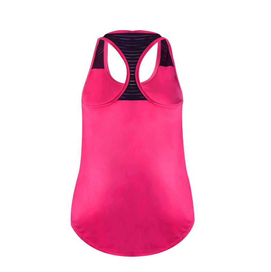 Workout Undershirt - (Hot Pink/ White)