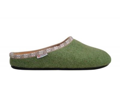 Superga - Pantofola Donna 3790 - Verde