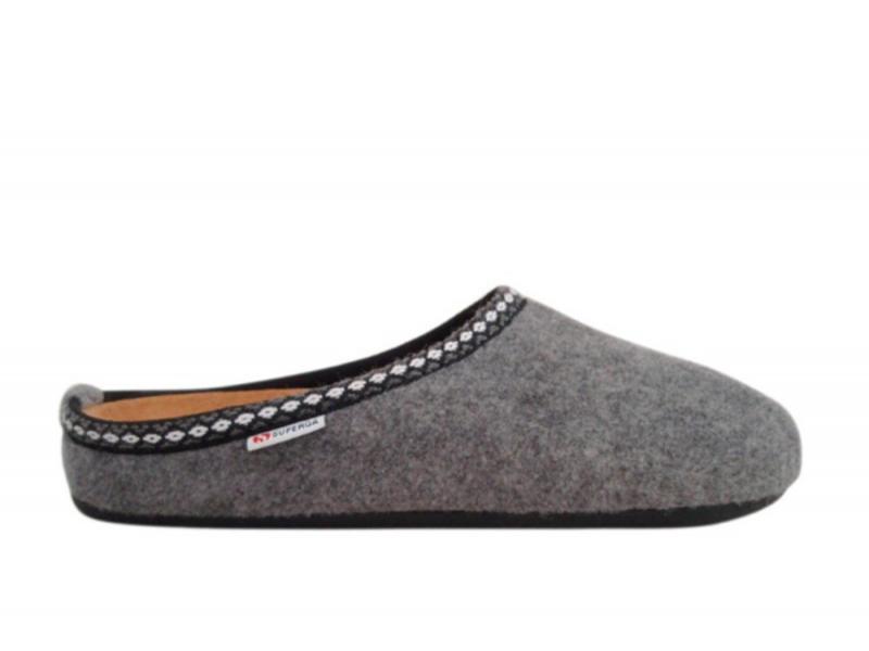 Superga - Pantofola Donna 3790 - Grigio