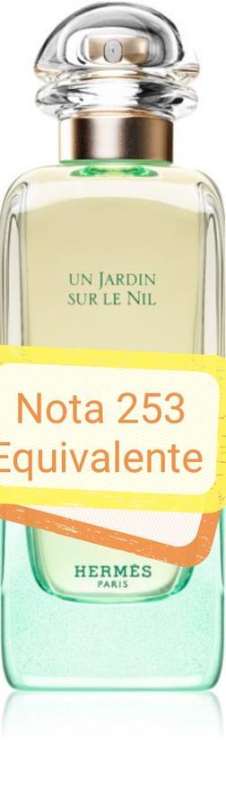 Nota 253 ricorda Jardin Sur le Nil Hermes