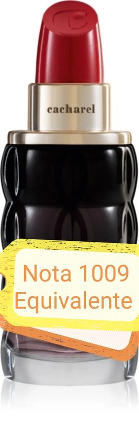 Nota 1009 ricorda Yes i'am honey Cacharel