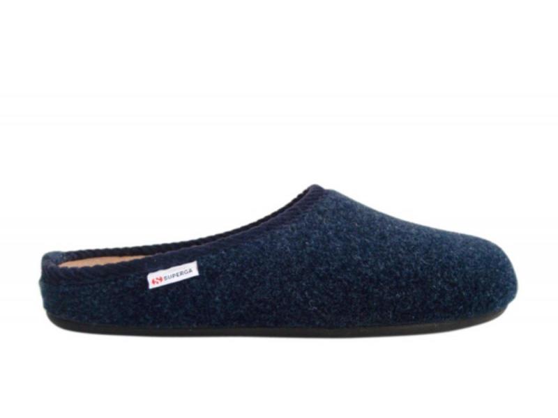 Superga - Pantofola Uomo 3795 - Blu