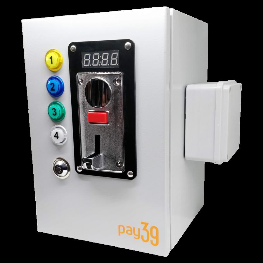 Gettoniera multimoneta per 4 porte (elettroserrature)