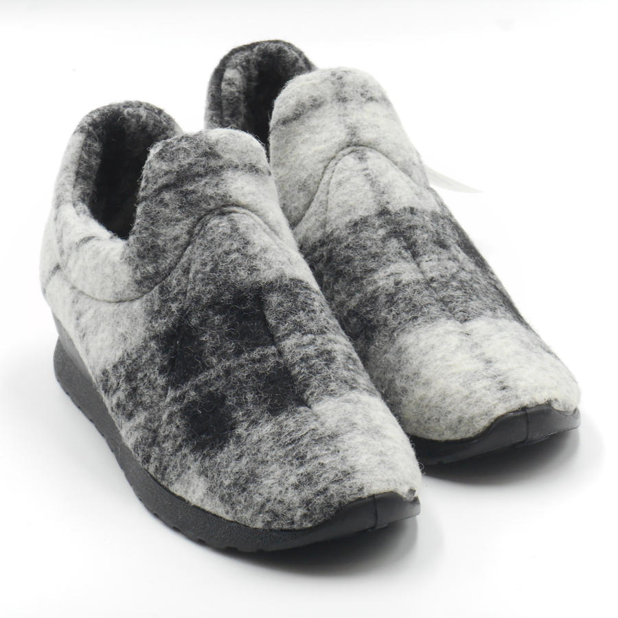 Emanuela pantofole donna in lana cotta