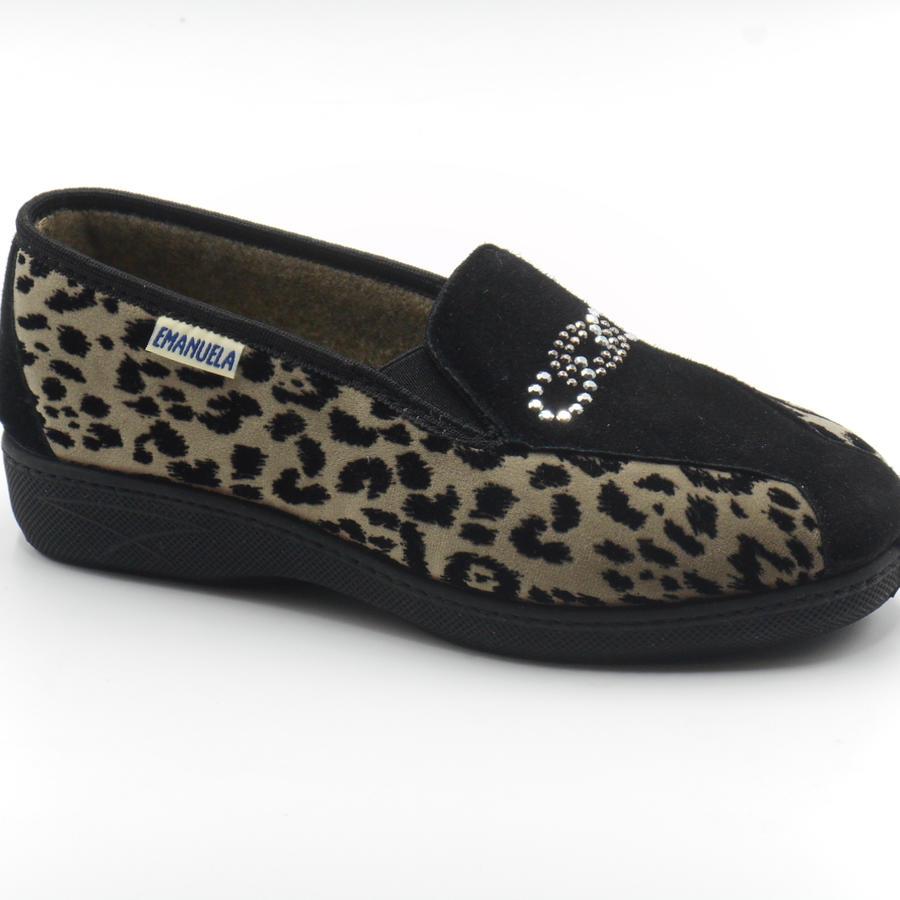 Emanuela pantofole donna fantasia animalier