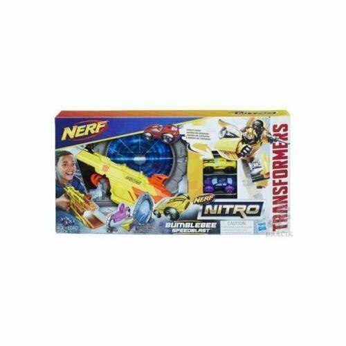 Nerf - Bumblebee Speedbalster - Hasbro E0892 - 5+ anni