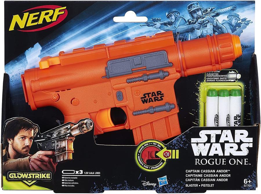 Nerf Star Wars - Glowstrike con luci e suoni e dardi fluorescenti - Hasbro B7764 - 6+ anni