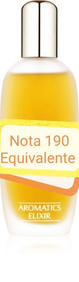 Nota 190 ricorda Aromatic Elixir