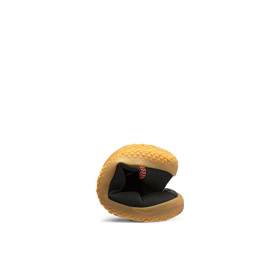 Vivobarefoot Primus Bootie Kids, scarpina in tela per bambini, colore nero