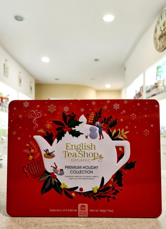 Cofanetto collezione Red English Tea Shop