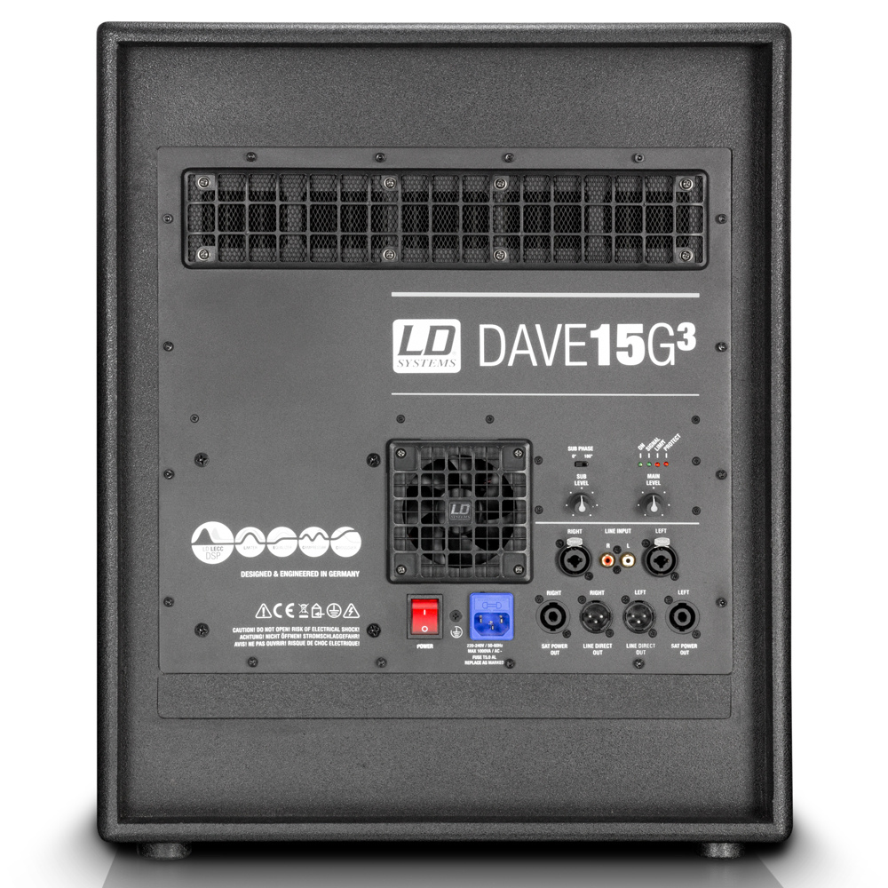 LD Systems DAVE G3 Series 15""