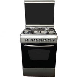 REM Cucina a gas con Forno a Gas + Grill Elettrico 60x60 Inox R605VXG
