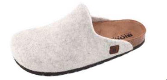 Bioline - Pantofola 48 - Ghiaccio