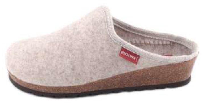 Bioline - Pantofola 2170 - Merinos Panna