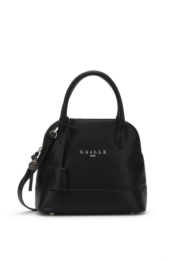 Bauletto small Gaelle nero logo
