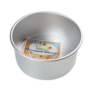 tortiera professionale anodizzata alta cm 10 alluminio, diametro 20 PME