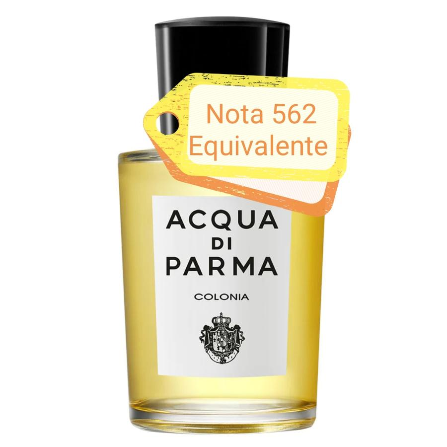 Nota 562 ricorda Acqua di Parma