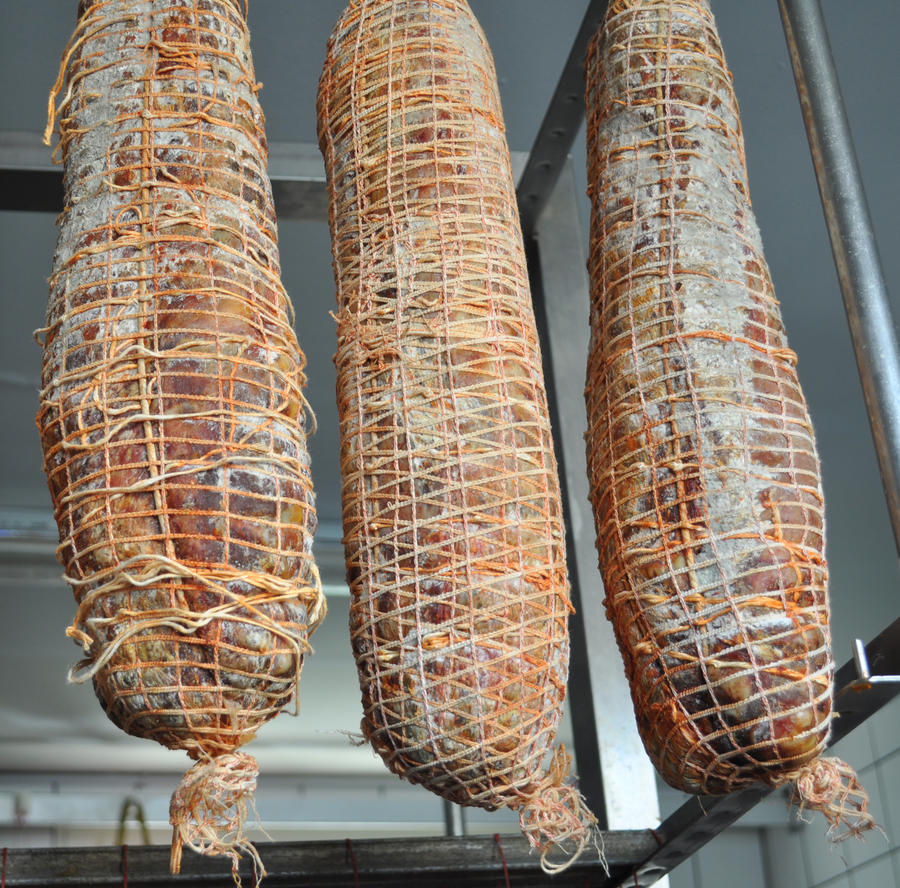 Capicollo Piccante di Suino Nero, Salamarìa Calabra, 0,350 kg