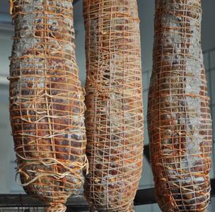 Capicollo  di  Suino Nero, Salamarìa Calabra, 0,350 kg