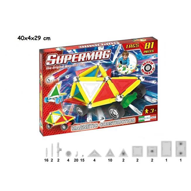SUPERMAG TAGS WHEELS 81 PZ
