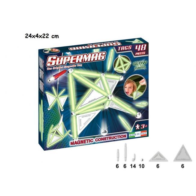 SUPERMAG TAGS GLOW 48 PZ