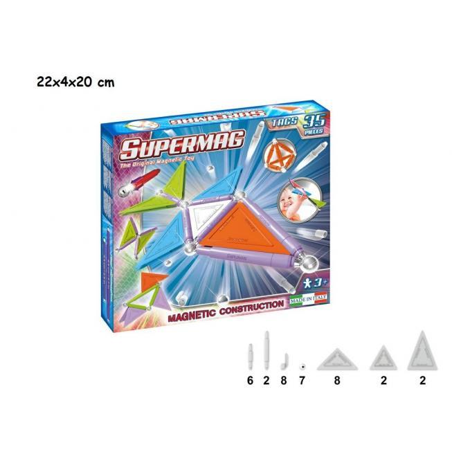 SUPERMAG TAGS TRENDY 35 PZ
