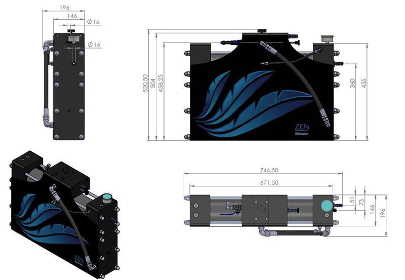 Dissalatore Schenker ZEN 100 /24V - Offerta di Mondo Nautica 24