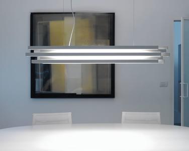 Lampada a Sospensione Escape di Karboxx in Alluminio Verniciato Bianco, Varie Misure  - Offerta di Mondo Luce 24