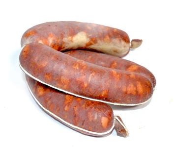Salsiccia fresca Piccante affumicata di Suino Nero, Salamarìa Calabra, 0,500kg