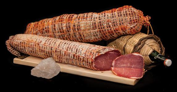 Filetto Piccante di Suino Nero, Salamarìa Calabra, 0,300 kg