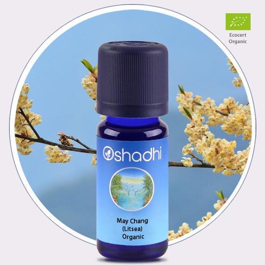 Oshadhi - Litsea olio essenziale bio 10ml