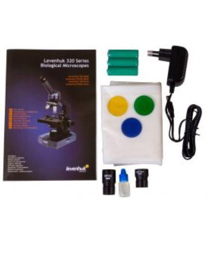 Microscopio Biologico Monoculare Levenhuk 320 Plus