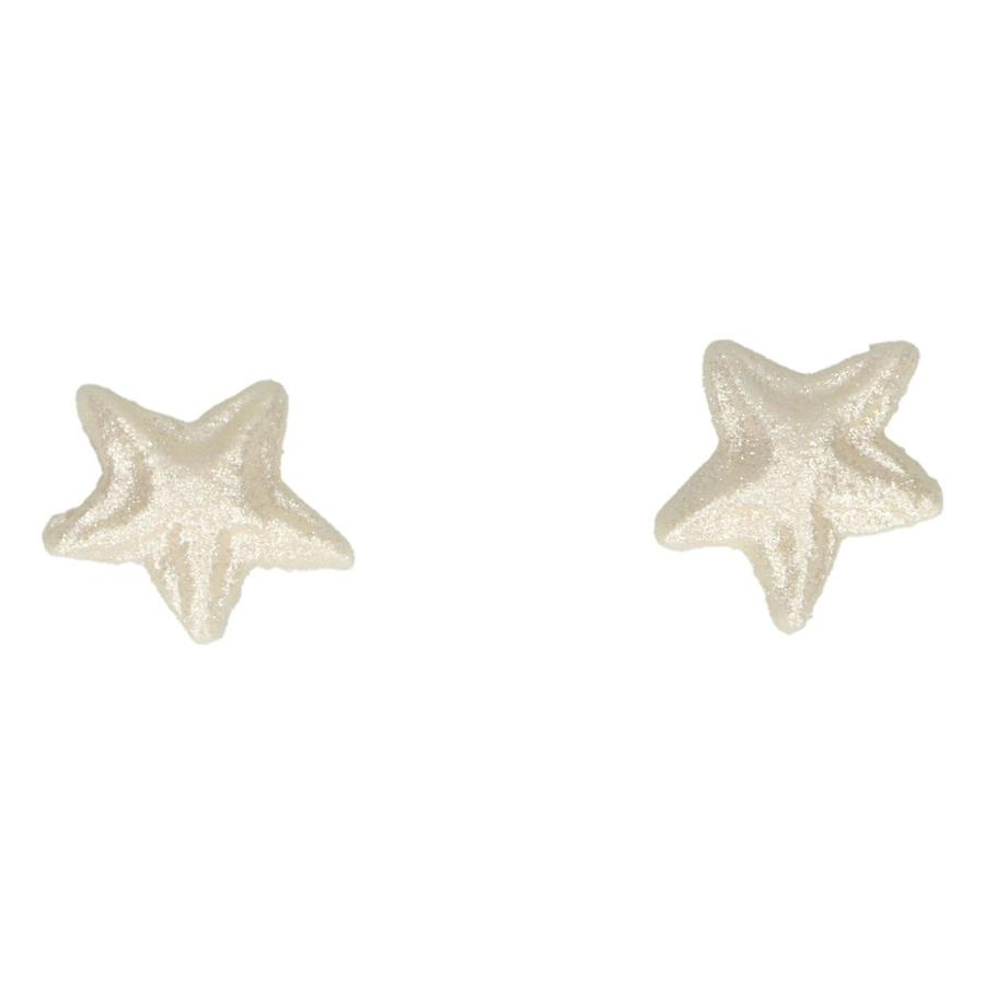 Set 24 stelle decorazioni in zucchero perla Funcakes