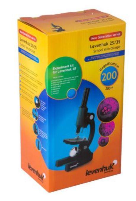 Microscopio Biologico Monoculare Levenhuk 2S NG