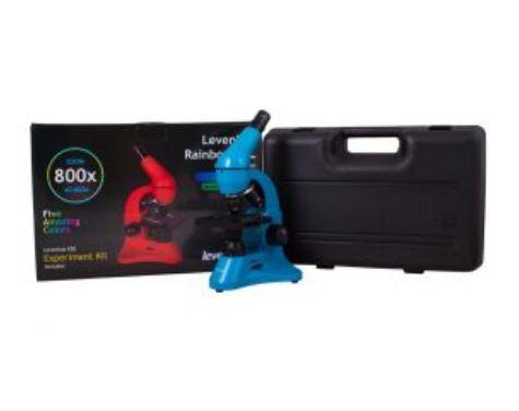 Microscopio Levenhuk Rainbow 50L con Kit Esperimenti, Vari Colori